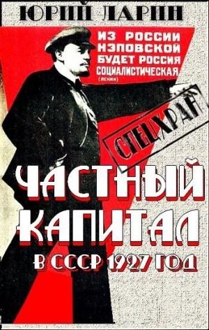 Ларин Юрий - Частный капитал в СССР