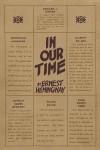 Хемингуэй Эрнест - Очень короткий рассказ