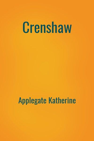Applegate Katherine - Crenshaw